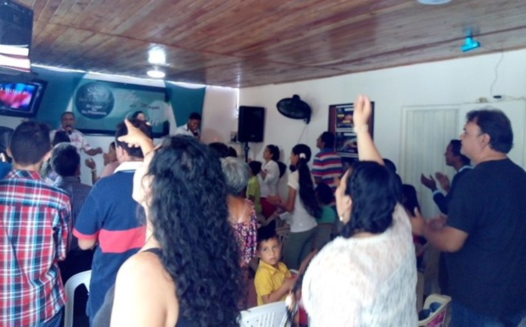 The Second Floor on the Transition Church in Bucaramanga