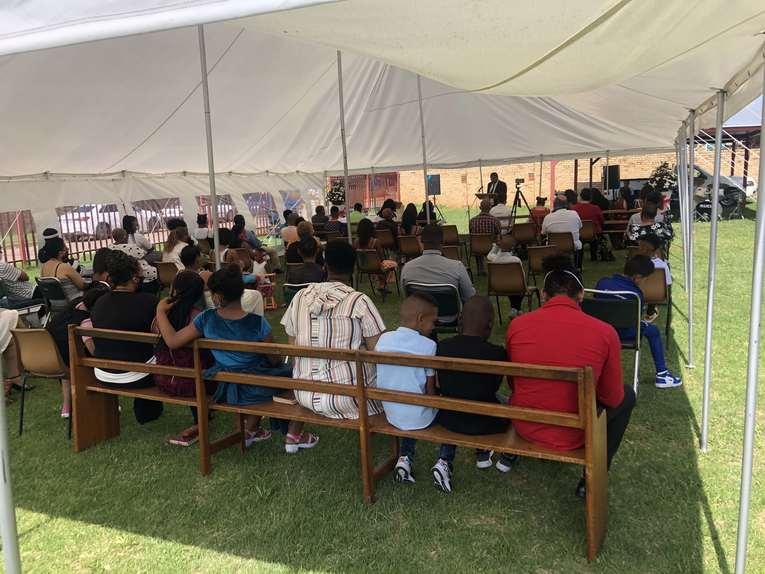 Nigeria New Church Tents